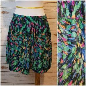 Hinge Paint Brushstroke Skirt